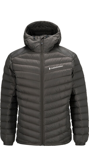 Peak Performance M's Frost Down Hood Jacket Black Olive